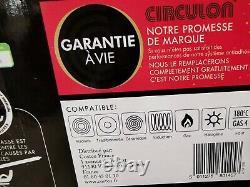 LAST BOX Circulon Symmetry Hard Anodised 8 piece Non-Stick 5 pan Set Induction
