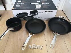 Le Creuset 3 Piece Cookware Set Toughened non-stick Pans