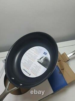 Le Creuset 3-Ply Stainless Steel Non-Stick Frying Pans, Set of 2 (24cm & 28cm)
