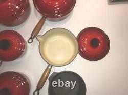 Le Creuset Saucepan Set (6 pieces) plus frying pan