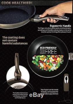 Luxury Pots High-quality rose gold Cookware Set 10 pcs frypan utensils