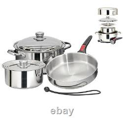 Magma Nestable 7 Piece Induction Cookware