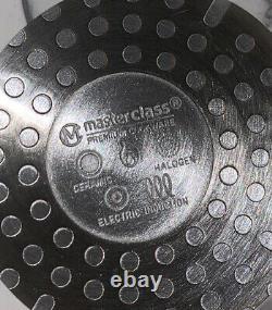 MasterClass Premium Cookware Set 11 9.5 & 8 Skillets + 9.5 Casserole Green NEW
