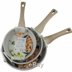 Masterclass Cookware 8 9.5 11 Skillets Non Stick Frying Pans Set of 3