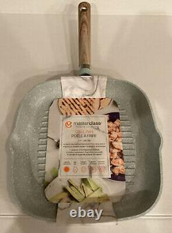 Masterclass Premium Cookware 4 Piece Set 11 Grill Pan 8, 9.5 & 11 Skillet