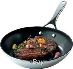 Meyer 70022 Select 6 Piece Induction Pan Set S/Steel Non-Stick Saucepan Cookware