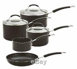 Meyer Induction Milkpan, Saucepans And Frypan Set Of 5 10 Year Guarantee Pan