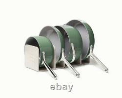 NEW Caraway 7-Piece Cookware Set Non-stick Ceramic Coated Non-Toxic Sage color