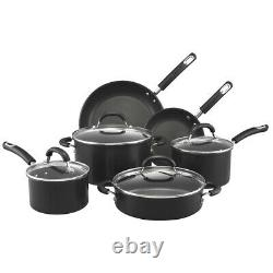 NEW Circulon Total Hard Anodised Cookware Set 6pce