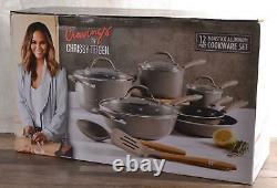 NEW Cravings by Chrissy Teigen Aluminum Cookware Set 12-Piece Nonstick Oven-Safe