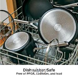 NEW! Ninja Foodi NeverStick 11-Piece Cookware Set Pots Pans Non Stick