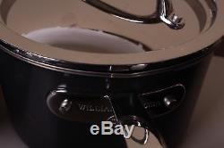 New 10pc Williams Sonoma Hard Anodized Copper Core nonstick cookware set pan pot