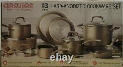 New! Circulon 13 Piece Hard-anodized Cookware Set