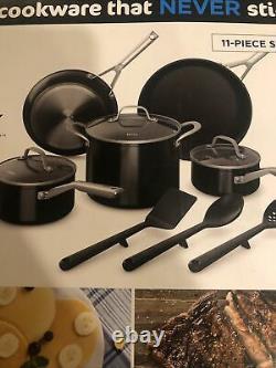 Ninja Foodi NeverStick 11-Piece Cookware Set Guaranteed Never To Stick