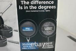 Ninja Foodi NeverStick Premium 10-Piece Cookware Set NEW C39500 (31B)