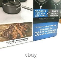 Ninja Foodi NeverStick Premium 10-Piece Cookware Set Open Box NEW