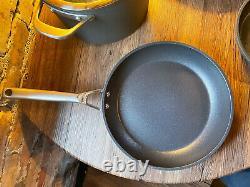 Ninja NeverStick Premium Cookware 6 Pc Set 6.5 Qt Stock, 3 Qt Sauté, 10, 8 Fry