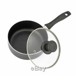 Non-Stick Cookware Set Pan Pot /Wok /Copper 2/4/5 Zone Touch Control Ceramic Hob