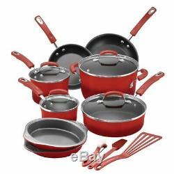 Nonstick Aluminum Cookware Set Pots Pans Oven Utensils Baking Dish Tray Enamel