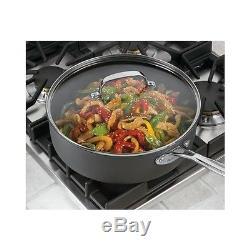 Nonstick Cookware Set 17 Piece Aluminum Titanium Kitchen Pots Pans Skillets