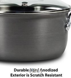 Nonstick Cookware Set Hard Anodized T-fal Sets Kitchen Pots And Pans 17 Piece