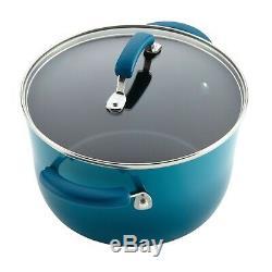 Nonstick Cookware Set Rachel Ray Pots Pans Kitchen Enamel Cooking Non Stick