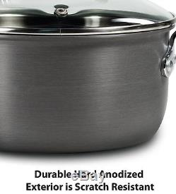 Pots And Pans Set Nonstick TFal 12 Piece Ultimate Hard Cookware Thermal Spot S