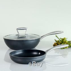 ProCook Forged Non-Stick Induction Wok Set Pots and Pans With 22cm Frying Pan