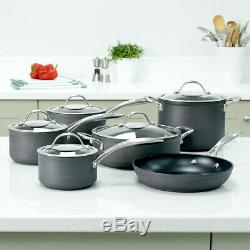 ProCook Professional Anodised Induction Non-Stick Cookware Set 6 Piece