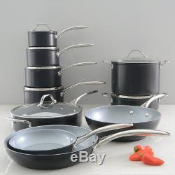 ProCook Professional Ceramic Induction Non-Stick Cookware Set 10 Piece