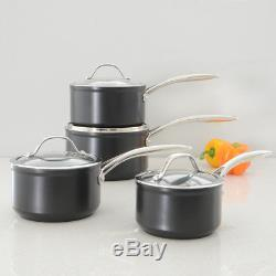 ProCook Professional Ceramic Induction Non-Stick Saucepan Set 4 Piece