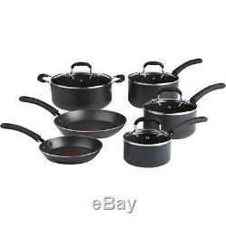 Professional 10 Piece Cookware Set, Induction Cooktop Anodized Aluminum Pans Pot