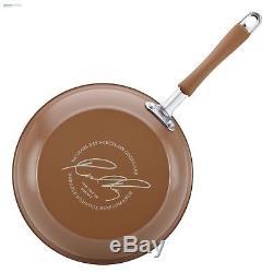 Rachael Ray Cookware Set 12 Pc Nonstick Kitchen Hard Porcelain Enamel Pots Pans