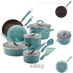 Rachael Ray Cookware Sets Pots And Pans Saucepans Skillets Nonstick NEW