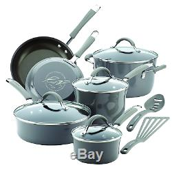 Rachel Ray Cookware Set, Non Stick Cookware Set, Pot and Pan, Aluminium Cookware