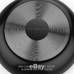 Rachel Ray Style Cookware Set Nonstick Black Pots Pans Lids Vremi Non Stick