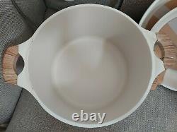 Rare 8 Piece Rae Dunn Cookware set Casseroles/Pots/Frying PansSIMMER FRY