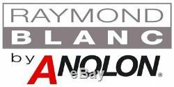 Raymond Blanc 82346 Anolon 3 Piece Cookware Set Saucepan With Lids Non-Stick