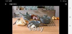 Salter marble pan set/kitchen starter set utensils cutlery chopping board
