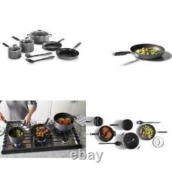 Select by Calphalon Hard-Anodized Nonstick Pots and Pans, 10-Piece Cookware Set