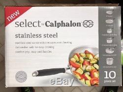 Select by Calphalon Stainless Steel 10-piece Pot & Pan Cookware Set