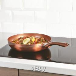 Set 28cm, 24cm & 20cm Cermalon Copper PRO Frying Pan NON STICK CERAMIC INDUCTION