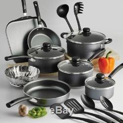 Set Of Pots And Pans Large Cooking 18-Piece Professional Best Stove Non Stick