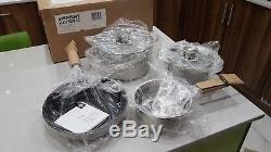 Siemens HZ390042 induction pan (set of 4)