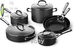 Simply Pots And Pans Set, 10 Piece Cookware Set, Nonstick