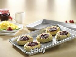 Six Piece USA Pan Bakeware Set Nonstick Silicone Baking Cookie Sheet Muffin Cake