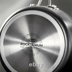 Stellar PP568 Rocktanium 3 Piece Saucepan Set Brand new