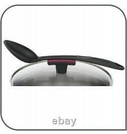 TEFAL COOKWARE SET COOK & CLIP AND 2 x PAN EMOTION AND WOK 13 PCS POTS PANS POT