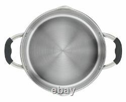 TEFAL COOKWARE SET ILLICO 11 PCS SAUCEPAN STEWPOTS STOCKPOT 2 x FRYING PANS POTS
