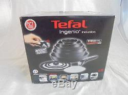 TEFAL Ingenio L3209845 13-piece Non-stick Complete Set Black